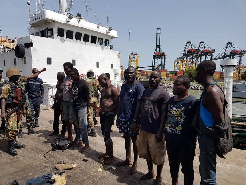 PIRATERIE MARITIME, la Marine nationale togolaise a déjoué une attaque des pirates